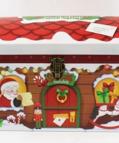 Santas Workshop Toy Chest Boxes