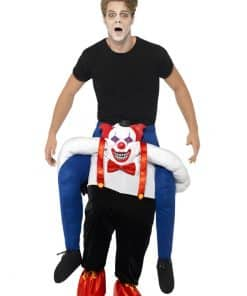 Sinister Clown Piggy Back Costume