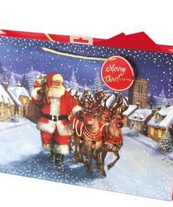Traditional Santa Extra Large Gift Bag