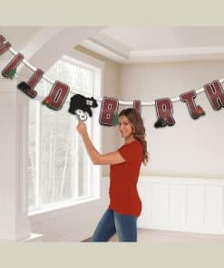 Little Lumberjack Party Add an Age Banner - 3.2m