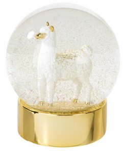 Boho Llama Snow Globe