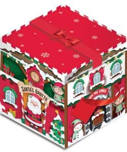 Deluxe Santa's Grotto Christmas Gift Box - 28cm