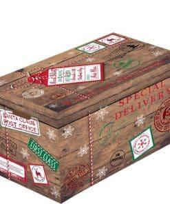 Flat Pack Christmas Box