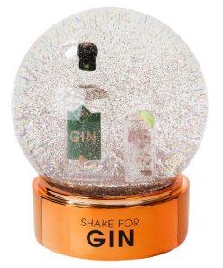 Gin Snow Globe