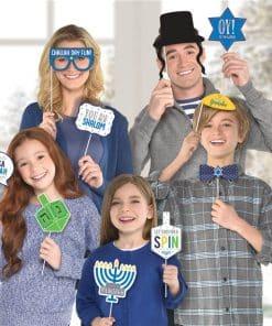 Hanukkah Selfie Photo Props