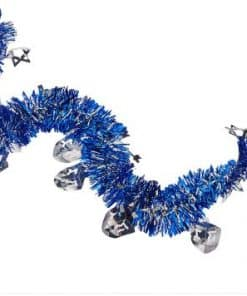 Hanukkah Blue Tinsel Garlands