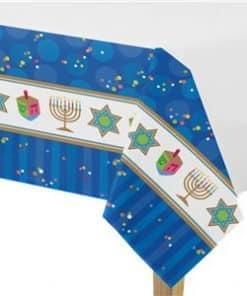 Hanukkah Plastic Tablecover