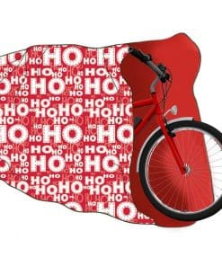 Giant Christmas Ho Ho Ho Bike Sack