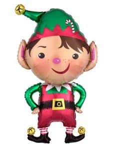 Jolly Christmas Elf SuperShape Balloon