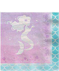 Mermaid Shine Paper Napkins
