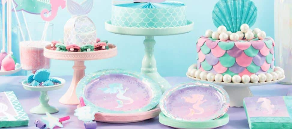 Mermaid Shine Party Decorations & Ideas Next Day Delivery