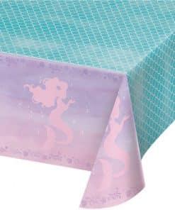 Mermaid Shine Plastic Tablecover