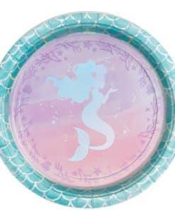 Mermaid Shine Paper Plates