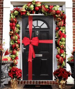 New Christmas Door Bows