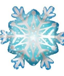 Satin Snowflake SuperShape Balloon