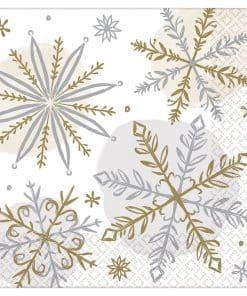 Let It Snow Beverage Napkins