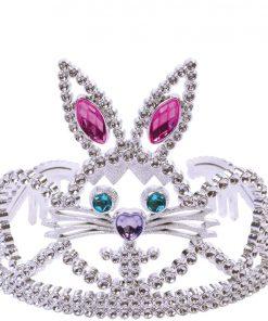 Silver Bunny Tiara