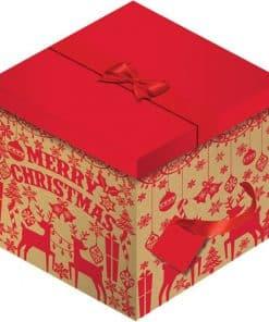 Stag Christmas Box