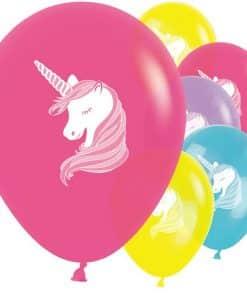 Unicorn Balloons Printed Latex Balloons