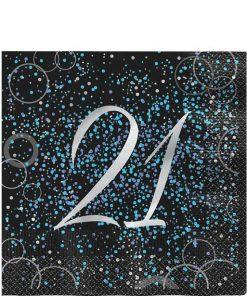 21st Blue Glitz
