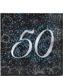 50th Blue Glitz