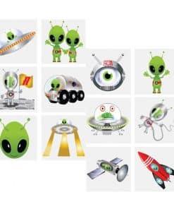 Alien Tattoo Sheet