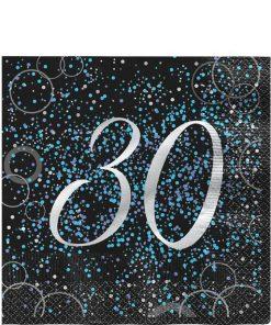 30th Blue Glitz