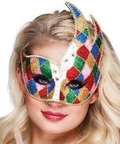 Carnival Jester Masquerade Mask