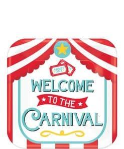 Circus Carnival Dessert Plates