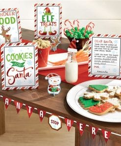 Cookies for Santa Mini Buffet Decorating Kit