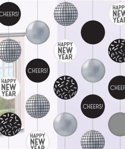 Disco Ball Drop Hanging Circle Decoration