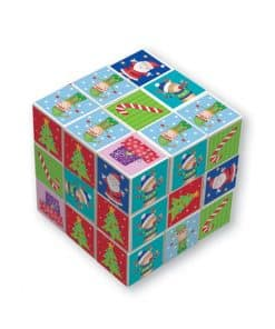 Elf Christmas Puzzle Cube