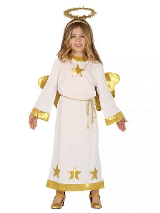 Gold Star Angel Child Costume