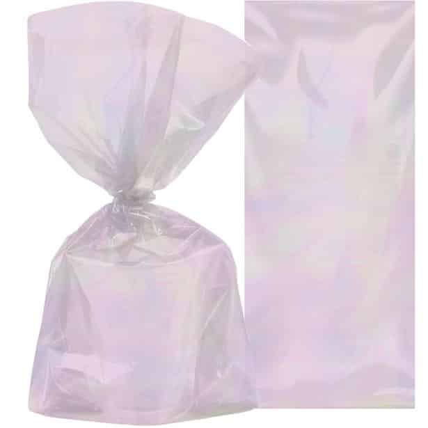 e0bf6df7103d4 Iridescent Party Bags (Pk 10)