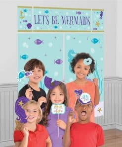 Mermaid Wishes Scene Setter with Props