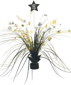 Metallic New Year Spray Centrepiece