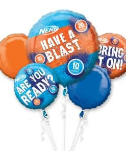 NERF Foil Balloon Bouquet