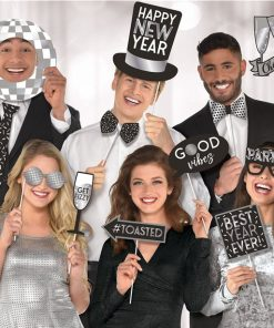 New Year Disco Ball Photo Props