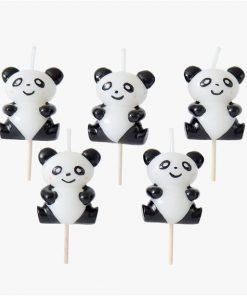 Panda Cake Candles