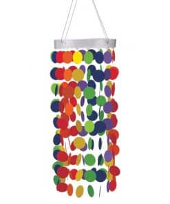 Rainbow Hanging Circle Chandelier Decoration