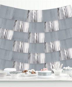 Silver Foil Decorative Hanging Backdrop Decoration