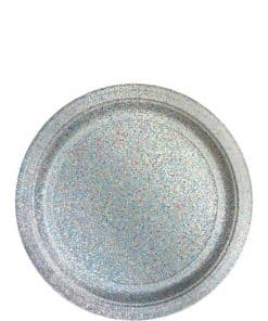 Silver Prismatic Plates