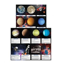 Space Blast Party Fun Fact Cards