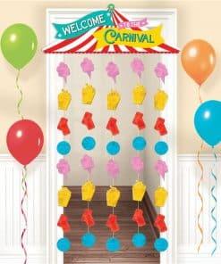 Circus Carnival Door Curtain - 1.95m x 99cm