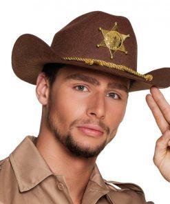 Deputy Sheriff Cowboy Hat