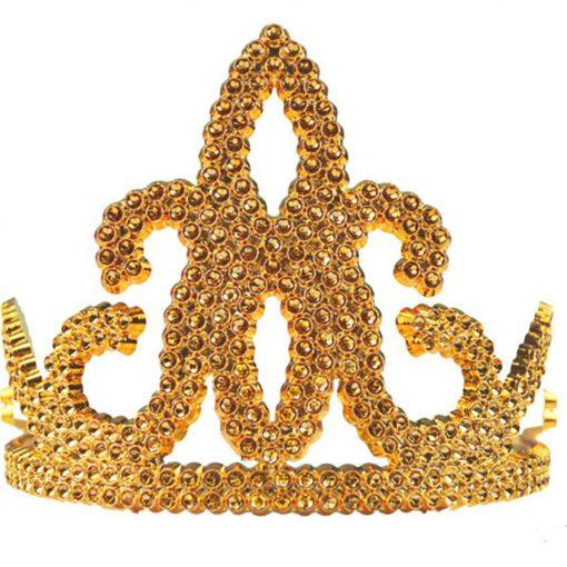 Gold Plastic Tiara