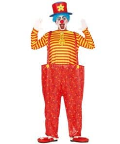 Hoopy The Clown Adult Costume