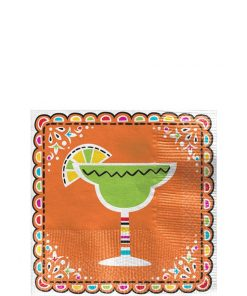 Mexican Fiesta Cocktail Napkin