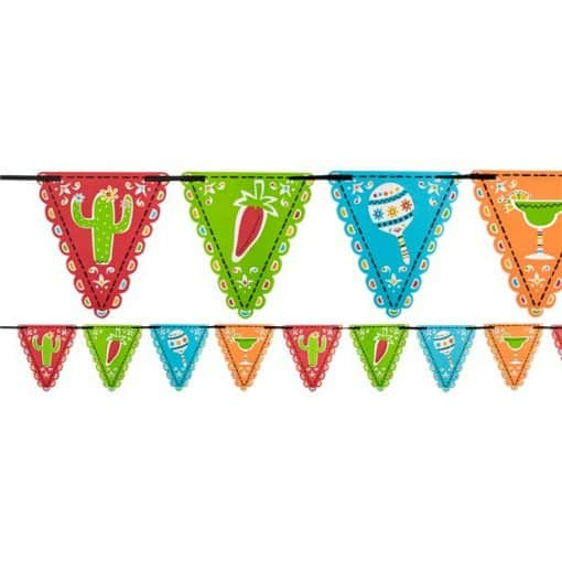 Mexican Fiesta Flag Bunting