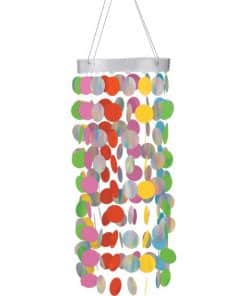 Multi Hanging Circle Chandelier Decoration